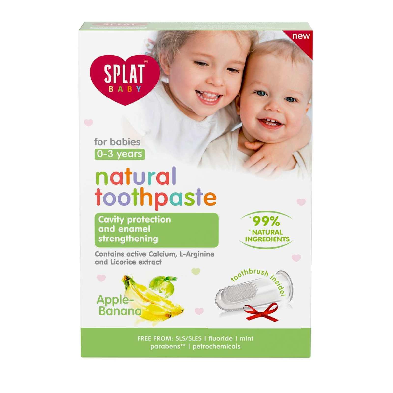 dentifricio bambini baby sicuro gusto
