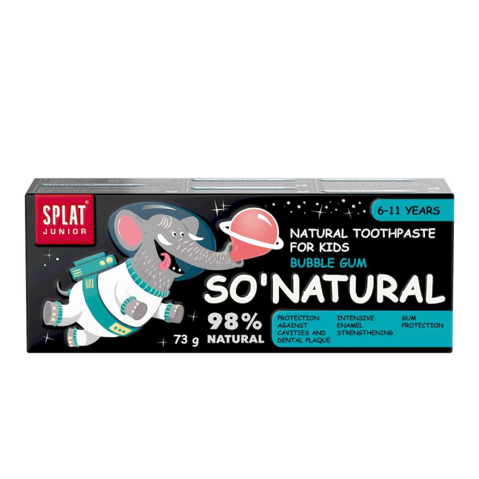 dentifricio bambini 6 11 anni gusti