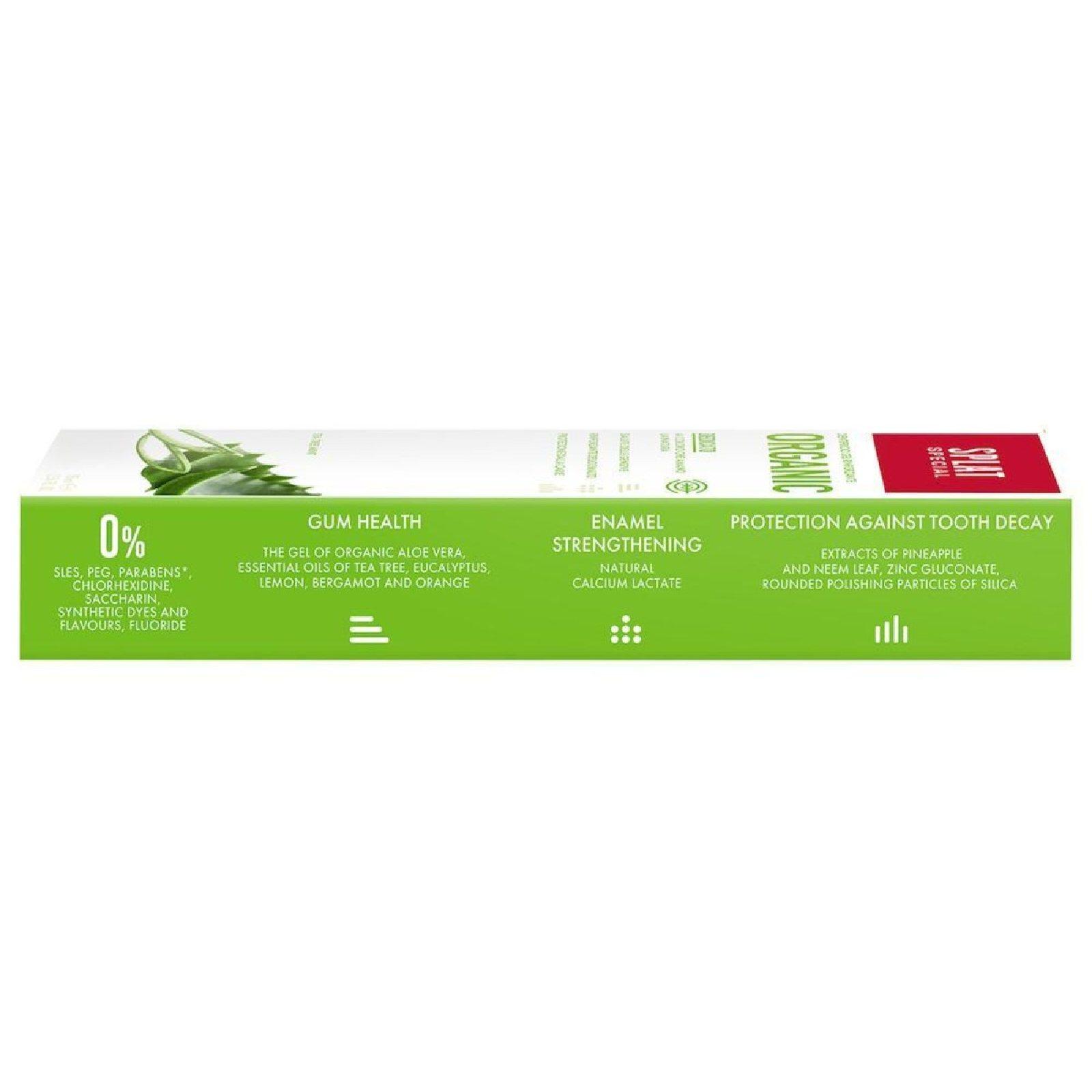 dentifricio organic sensibilità dentale smalto